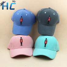 2016 Baseball Caps with Cute Cartoon Embroidery UK Soldiers Sport Hip Hop Hat Cap Golf Hat  Outdoor Sunhats Snapback Unisex