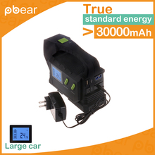 Battery Charging Unit with LED Light  32880mAh car jumper 12V Emergency Battery Charger For Diesel Vehicle Iphone Samsung Camera