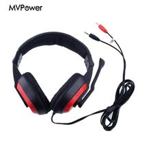 Gaming Stereo Headphones stereo bass Headset Earphone w/ Noise-canceling Mic for PC Computer gamer chat skype KANGLING 770