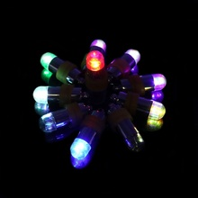 50pcs Purple Waterproof LED Mini Party Lights for Lanterns,Balloons, Floral Mini Led Lights For Wedding Centerpiece Glass Vases
