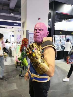 Thanos Cosplay Mask & Gauntlet Take Control of Your Infinity Saga Universe 18
