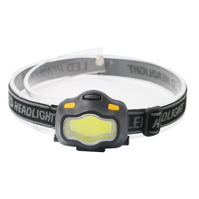New Headlamp 4 Mode LED Head Lamp Waterproof Headlight Flashlight Forehead 3AAA white+ red light Head lamp for Outdoor Lighting
