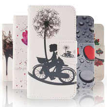 Buy Fashion Pattern PU Leather Case Coque Sony Xperia M4 Aqua E2303 E2353 E2306 E2333 E2363 E2312 Flip Cover Wallet Phone Cases for $3.98 in AliExpress store