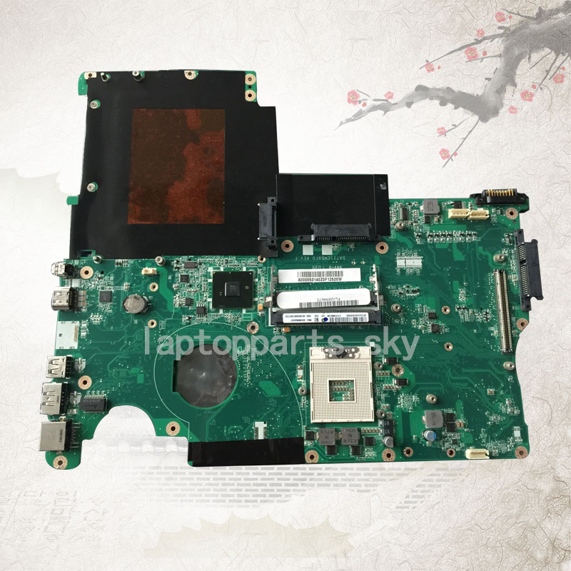 For Toshiba Qosmio X500 P505 X505 PM55 DDR3 with graphics slot laptop Mianboard Logic boards A000053140<br><br>Aliexpress