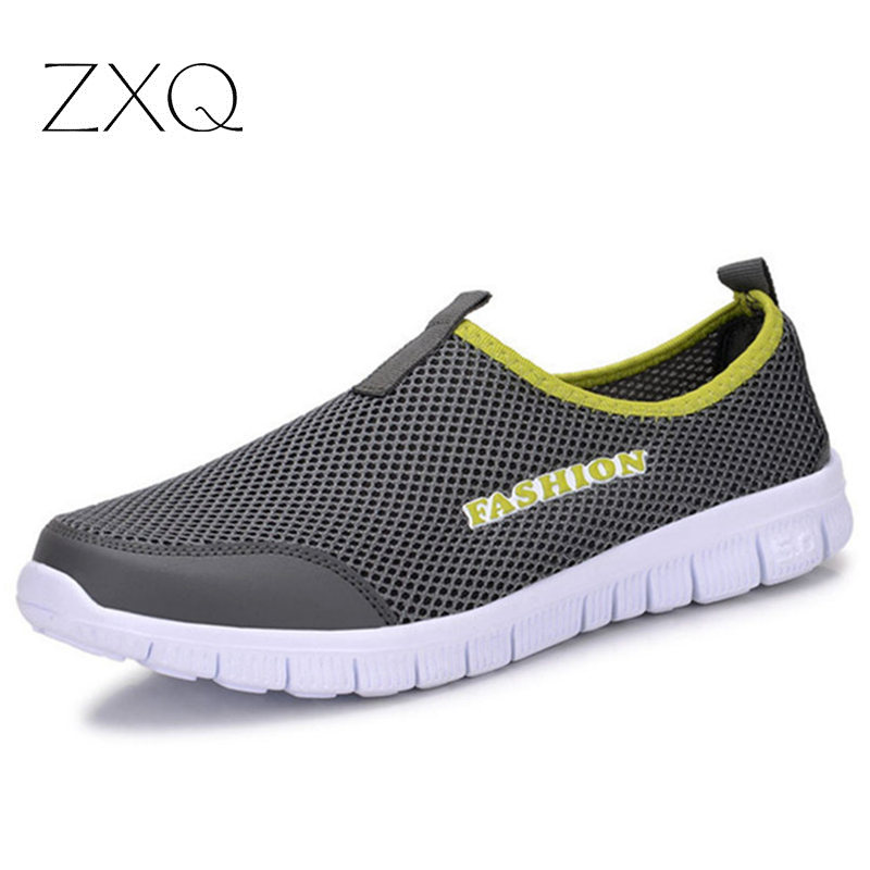 Men Shoes Fashion 2017 Summer Light Comfortable Slip On Men Casual Shoes Mesh Breathable Plus Size 38-46<br><br>Aliexpress