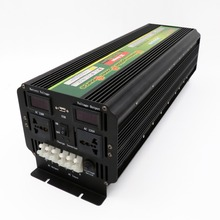 Useful High Quality DC to AC Solar Square Sine Wave Power Inverter UPS 5000w DC12V To AC220V(China)