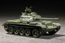 TRUMPETER scale model plastic   07281 1/72  Russian T-54B Medium Tank  Assembly Model kits scale model  3D puzzle vehicle model