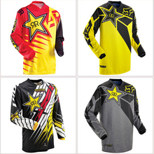 Long Sleeve Crossmax Offroad Downhill Jersey DH MX Clothing MTB Cycling Jerseys Motorcycle Motocross MTB Bike T-Shirts Dark Red
