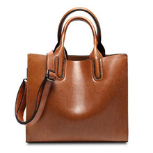 Buy Leather Bags Handbags Women Famous Brands Big Casual Women Bags Trunk Tote Spanish Brand Shoulder Bag Ladies large Bolsos Mujer for $14.59 in AliExpress store