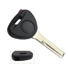 EKIY High Quality Transponder Key shell For Volvo S40 V40 S60 S80 XC70 Original No Chips Key Case Cover Have Red plug no Logo