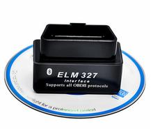 Super Mini ELM327  V 1.5 Bluetooth OBD2 auto code reader ELM327 Bluetooth ELM 327 OBD 2 OBD2  Car-Detector  English Russian