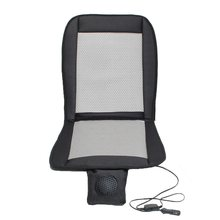 12V Summer electric Car seat cushion seat cover Cooling air conditioning Breathable Fan Cooler Cable(China)