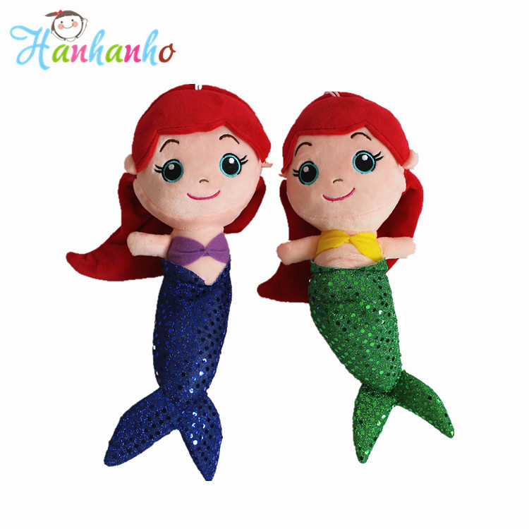 4Color 30cm New Kawaii Mermaid Plush Toy Princess Doll Gift For Baby Stuffed Animal Soft Toy<br><br>Aliexpress