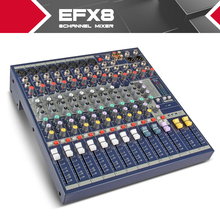 Highest quality!!!All new Soundcraft EFX8 Stage performances Mixer with Effects 110V-220V Voltage 8 channel mixer video