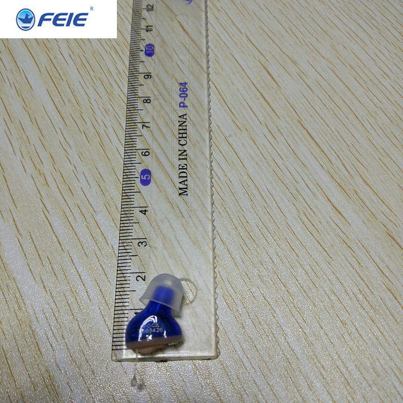 Mini Ivisible CIC ITC Hearing Aid FEIE Micro Amplifiers Headphones S-10A Top Rated Seller Free Shipping