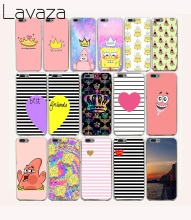 Lavaza 56O Spongebob Queen Princess Best friends Hard coque Case for iPhone 7 7 plus fundas cover(China)