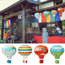 "Various Choice 12"" Hot Air Balloon Paper Lantern Lampshade Birthday Party Wedding Blowout Decor"