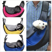 Pet Carrier Carrying Cat Dog Puppy Small Animal Sling Front Carrier Mesh Comfort Travel Tote Shoulder Bag Pet Backpack SL(China)