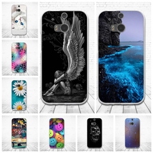 Case for HTC One M8 M8s Soft Silicone Back cover for HTC One M8S M8 Fashion Shell Skin 3D Printing Couque for HTC m8 capa funda