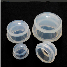 4Pcs Moisture Absorber Anti Cellulite Vacuum Transparent Cupping Cup Silicone Body Massage Therapy Cupping Cup Set 4 Size(China)