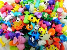 100pcs/1lot stikeez Dolls Sukers Cupule kids Cartoon Ocean Animal 2.5cm Action Figures #1860 Brinquedo Toys Kids Christmas Gift(China)