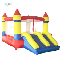 Inflatable Biggors Cheap Bouncer Bounce House Inflatable Bouncing Castle Jump Castle Inflatable Castle with Slide Toy For Kids(China)