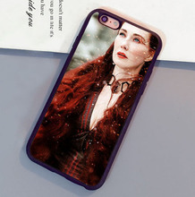 Melisandre Game of Throne Soft Rubber Skin Brand Cell Phone Cases Bags For iPhone 6 6S Plus 7 7 Plus 5 5S 5C SE 4S Back Cover