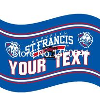 St. Francis Terriers YOUR TEXT  Flag 3ft x 5ft Polyester NCAA Banner Flying Size No.4 144* 96cm QingQing Flag