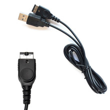 1PC 1.2m Black USB Charging Advance Line Cord Charger Cable for/SP/GBA/GameBoy/Nintendo/DS/For NDS