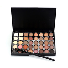 Professional Cosmetic 40 Colors Matte Eyeshadow Makeup Palette Naked Eye Shadow Powder Pigment set Women Nude Makeup with brush