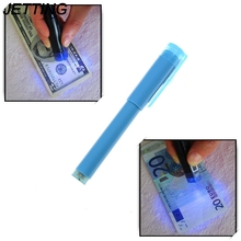 JETTING 2in1 Useful UV Light Banknotes Detector Counterfeit Fake Forged Money Bank Note Checker Detector Tester Marker Pen