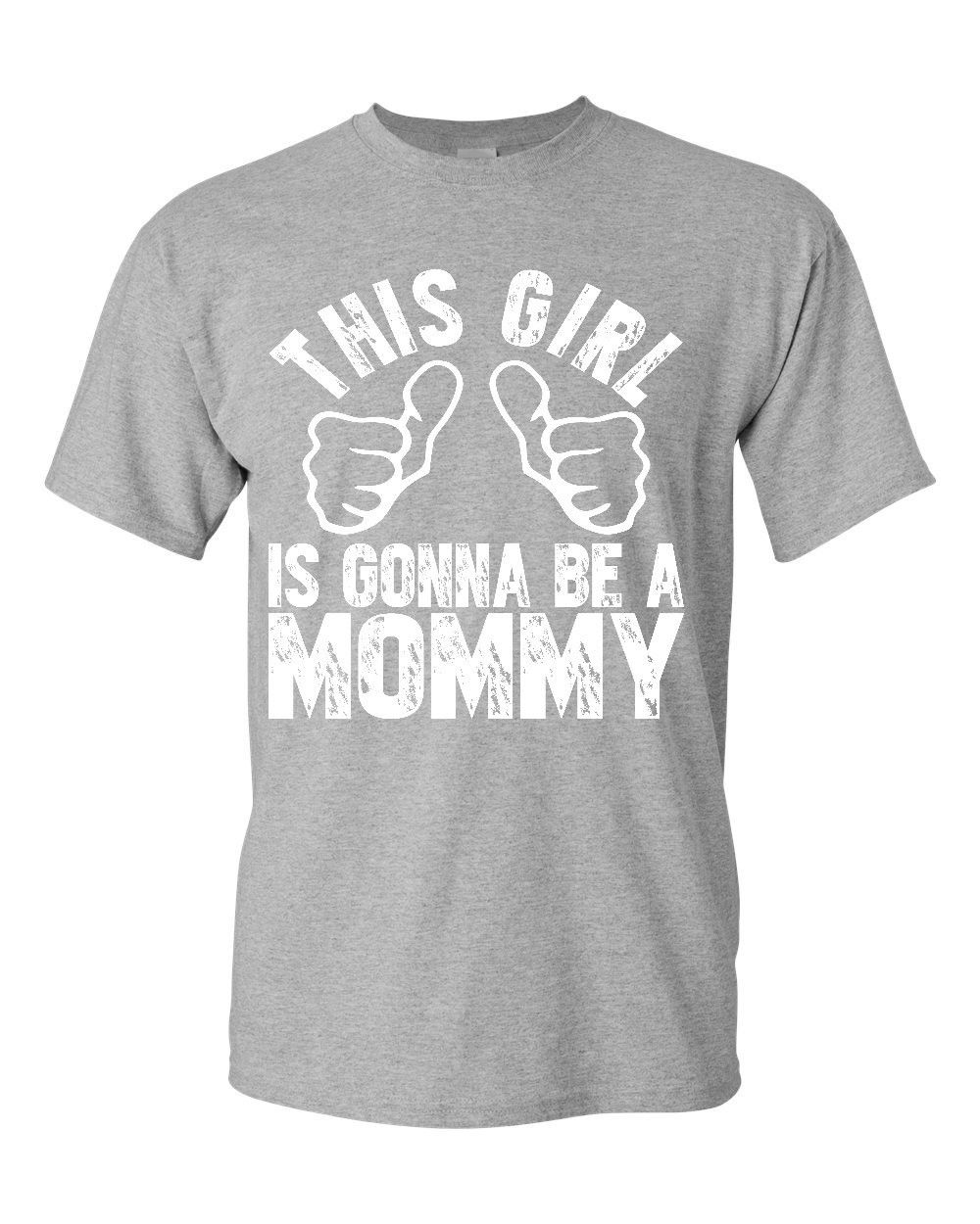 t shirt ideas o neck design short sleeve this girl is gonna be a mommy