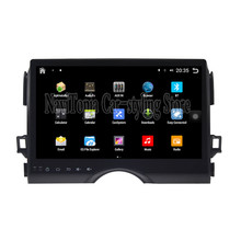 NaviTopia Brand New 10.1inch Quad Core Android 6.0 Car PC For Toyota Reiz Mark x(2011-2013) Car Audio Player With GPS Navigation(China)