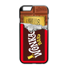 Golden Bar Willy Wonka Chocolate Cover Case for Huawei Ascend P7 Mini P8 P9 P10 Lite P9 P10 Plus Xiaomi Redmi 2 3 4 Note 2 3 4(China)