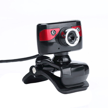 USB 2.0 12.0 Megapixel HD Camera Webcams 360 Degree with Microphone Clip-on Webcam for Desktop Skype Computer PC Laptop 2016 New(China)