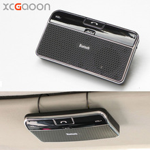 XCGaoon Wireless Bluetooth Handsfree Car Kit Speakerphone Sun Visor Clip For iPhone & All Mobiles Build in Mic & Speaker(China)