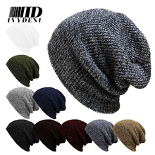 Winter Casual Hip Hop Beanies Hat Men Male Women Knitted Toucas Bonnet Hats For Men Women Crochet Ski Cap Warm Skullies Gorros