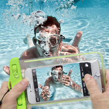 Waterproof Underwater Phone Case Bag Pouch For HTC Desire 620 620G / Desire 820 Mini D820mu 610 D610 M8 mini For Homtom HT6