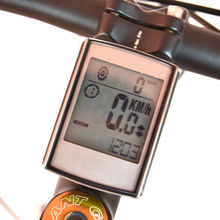 Waterproof Wireless Bike Computer Cycling Bicycle Speedometer with Cadence and Heart Rate Monitor
