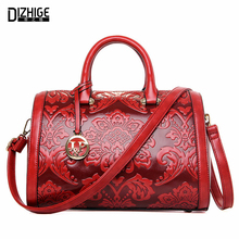 DIZHIGE Brand 2016 High Quality Luxury Handbags Women Bags Designer Ladies Hand Bags Chinese Style PU Leather Shoulder Bags New