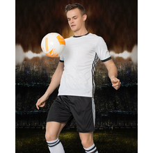 KAWU DIY Soccer jerseys Set (no sock) Sport Running Suit Custom Made Men Football Sport Clothes maillot de foot S17032(China)
