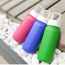 4 Colors Stainless Steel Thermos Termos Cute Travel Mugs Thermos Vacuum Water Bottle Garrafa Termica Food Flask Insulated Cups