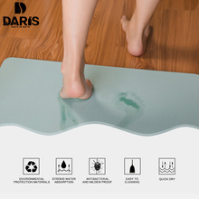 SDARISB Quick-drying Water Absorption Diatomite Bath Mat Bathroom Door Mat Absorbent Magical Designer Mat Bathroom Products(China)