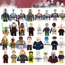 2017 Latest Grand Admiral Thrawn Even Piell Han Solo Luke Skywalker Model Action Bricks Kids DIY Toys Hobbies(China)
