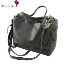 2017 Fashion Women Bag Vintage Nubuck Leather Handbag Casual Boston Tote Tassel Women Messenger Bag Spanish Brand Shoulder Bags