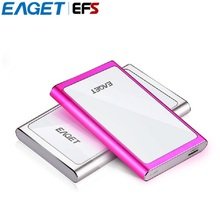 Hot Sale!!! 100% Original Eaget G90 USB 3.0 High Speed External Hard Drive 2.5 Inches Ultra-thin HDD 500GB / 1TB Hard Disk(China)