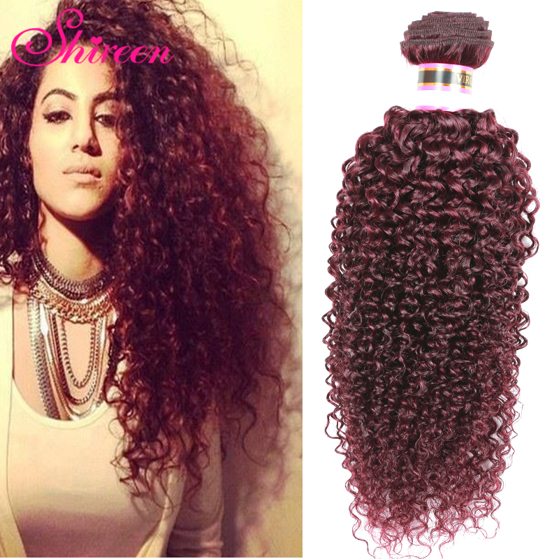 HOT 99j Peruvian Curly Wave Virgin Hair 4pcs/lot Shireen Hair Products Peruvian Hair Weave Bundles Ombre Hair Extensions Red<br><br>Aliexpress
