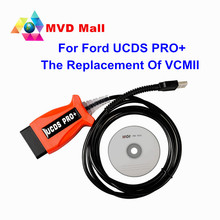 2017 Newly Arrival V1.26.008 UCDS PRO+ For Ford OBDII Diagnostic Tool Better Than For Ford VCM II Can Do Odometer Correction