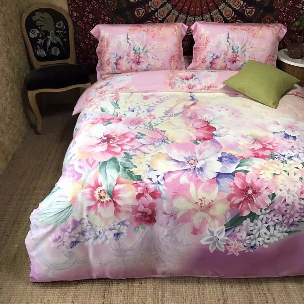 Wedding bed sheet set - 2017 Luxury Silk Place Satin Bedding Set New Designer Bedding Sets Bed Sheet Chinese Wedding Style