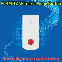 Free Shipping!868mhz Wireless Emergency Button for Our Related X6 868mhz Home Security Alarm System 868Mhz Panic Button
